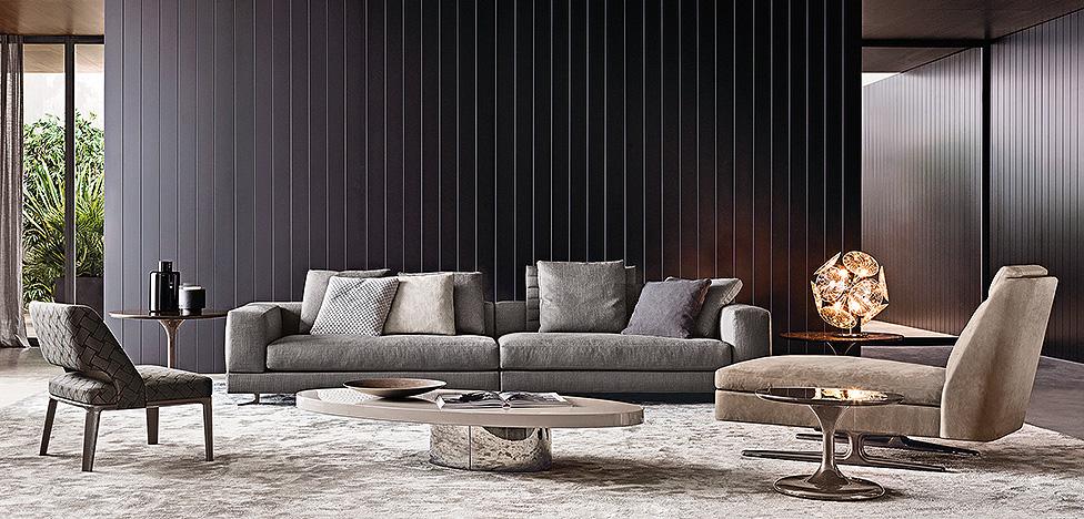 Мебель Minotti: люкс made in Italy