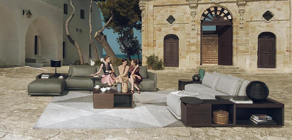 Natuzzi: кожаный диван — в массы!