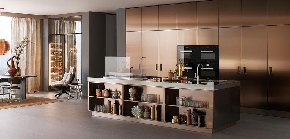 Кухни Arclinea: выбор шеф-поваров и кулинарных школ