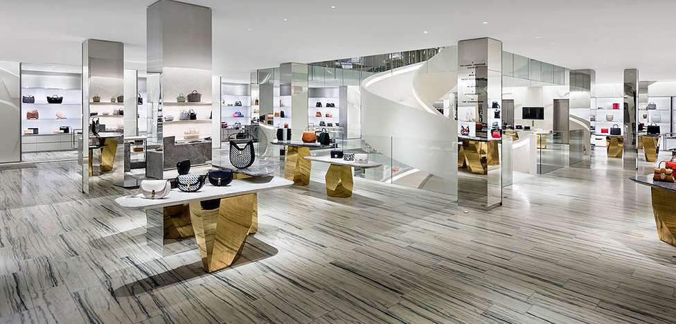 Универмаг Barneys New York: блестящий проект Steven Harris Architects