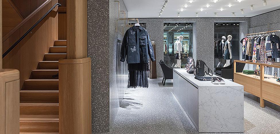Valentino: флагманский бутик от Дэвида Чипперфильда