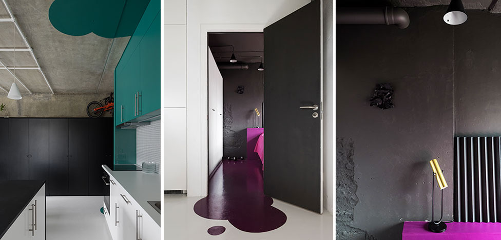 Le Atelier: модный бетон, цвет и бюджет