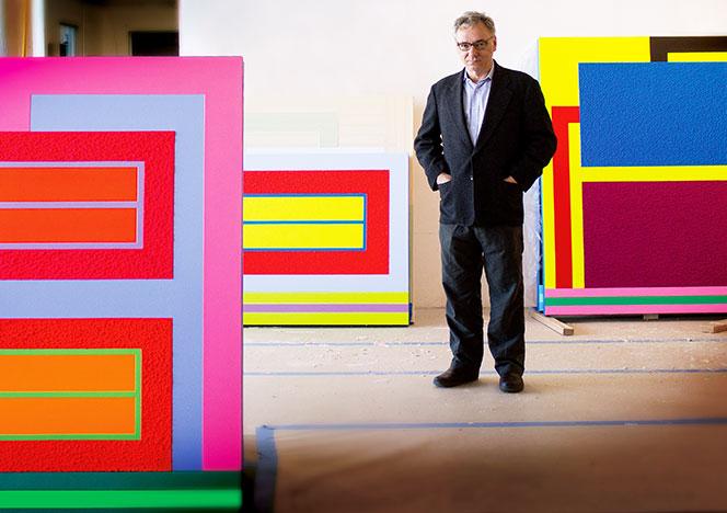 Питер Хелли (Peter Halley): американский абстракционист снова в Москве