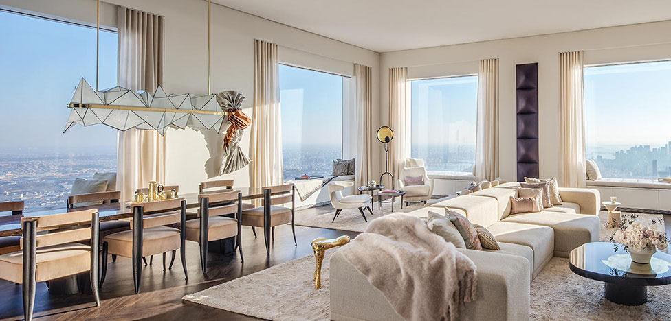 Келли Бехан: модельная квартира на 92-й этаже