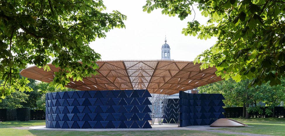 Павильон Serpentine: Африка в Лондоне