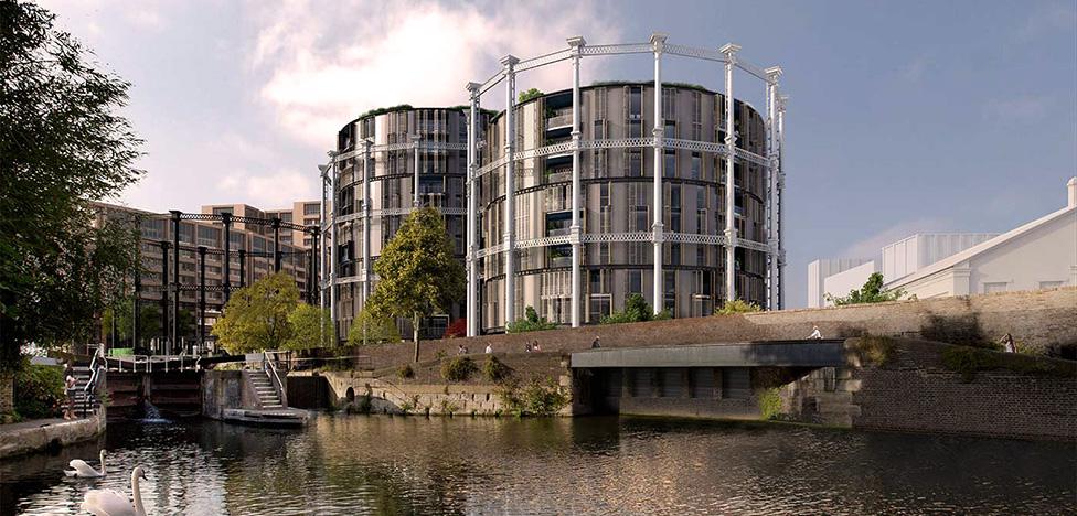 ЖК «Газгольдер» в Лондоне