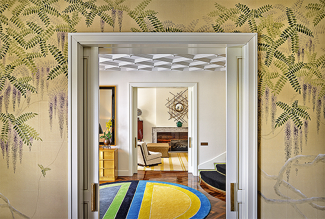 Oitoemponto: золотые комнаты