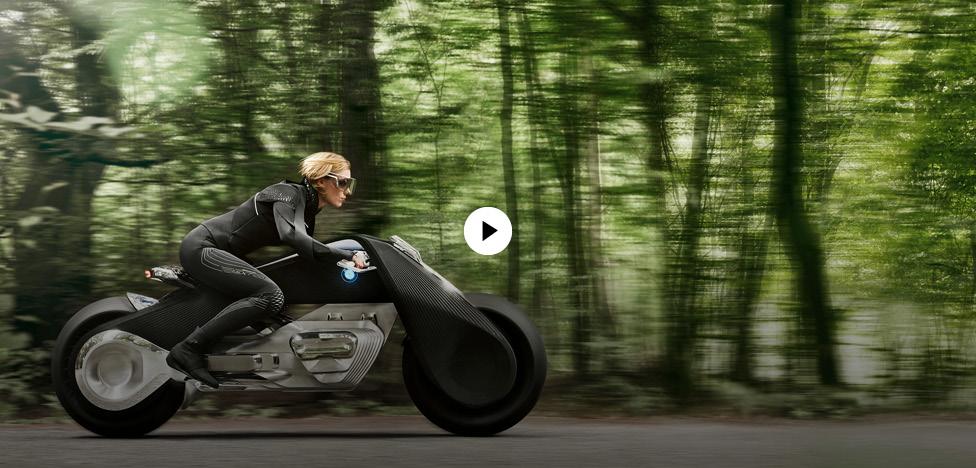 BMW: электробайк будущего