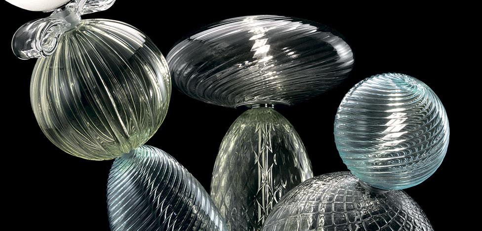 Barovier&Toso: стеклянные светильники Марселя Вандерса