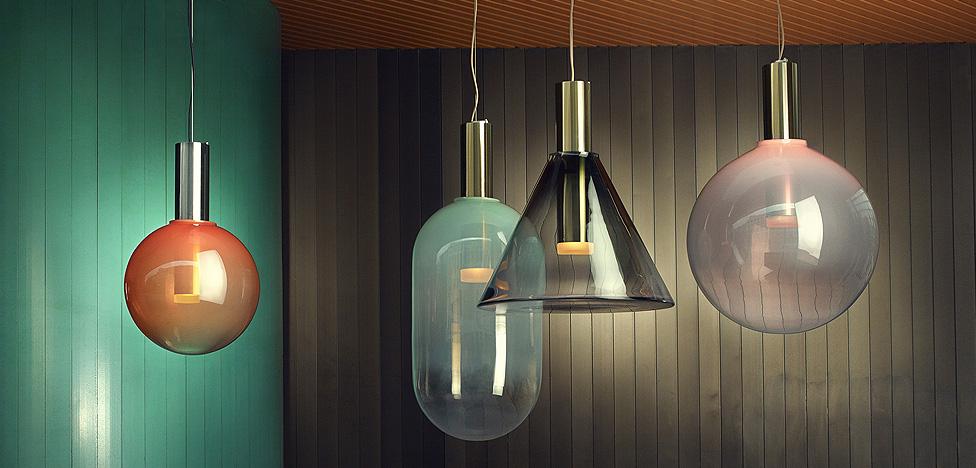 Светильники Bomma: мягкий градиент