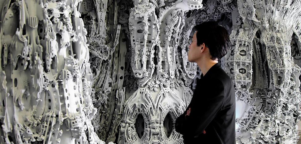 Digital Grotesque II: цифровой грот в Центре Помпиду