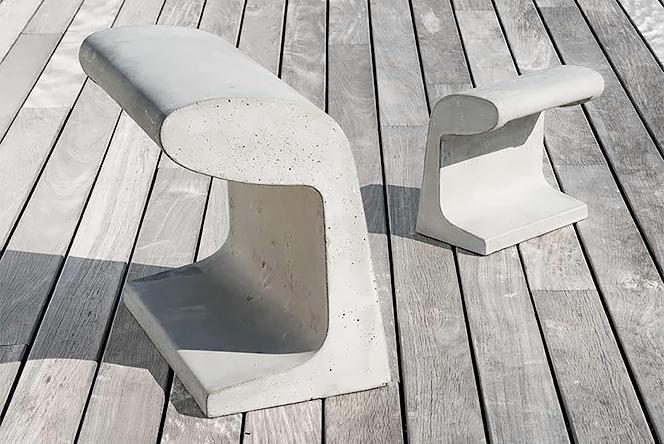 Ле Корбюзье (Le Corbusier): светильник из бетона