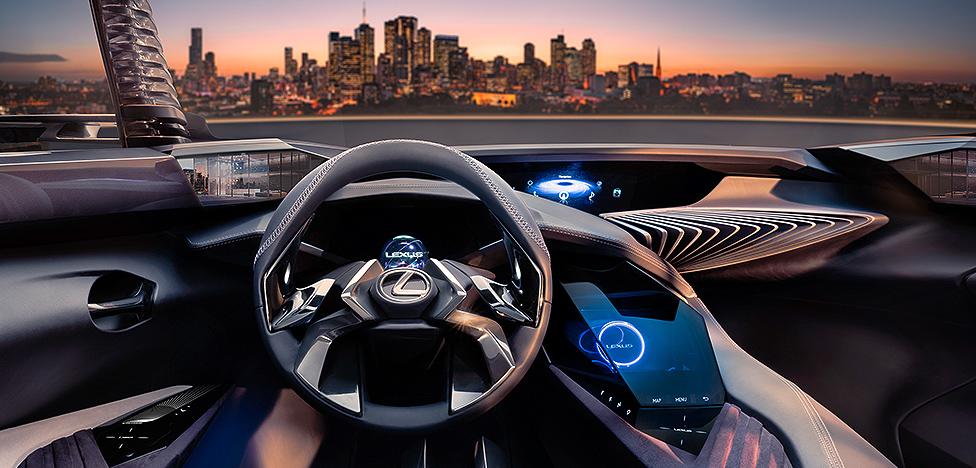 Lexus UX — суперпремьера Парижского автосалона