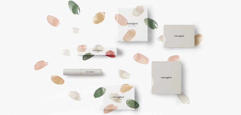 Органическая косметика в упаковке от Nendo