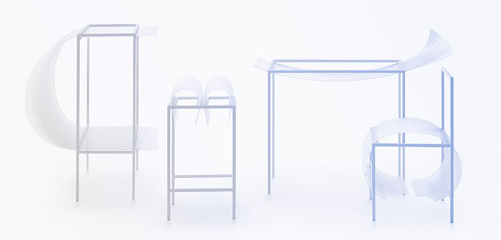 Nendo: комфортная мебель слой за слоем