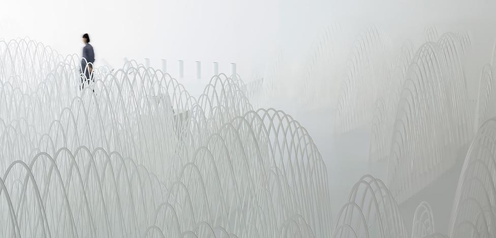 Инсталляция Nendo в Милане