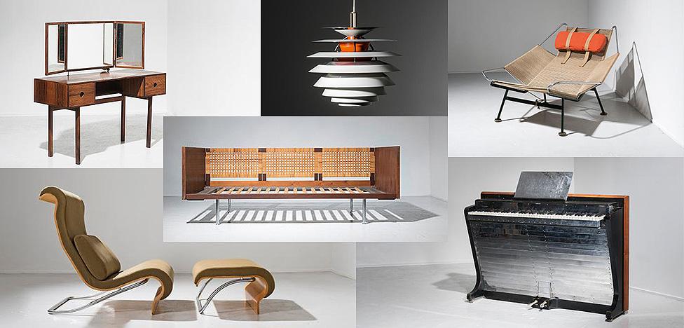 Pierre Bergé & Associés: на торгах — скандинавский дизайн