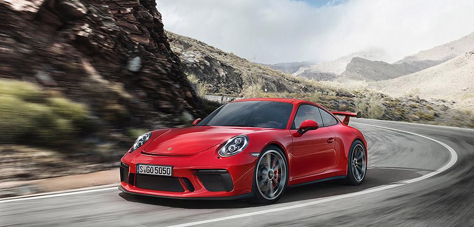 Porsche: апгрейд суперкара 911 GT3 в Женеве