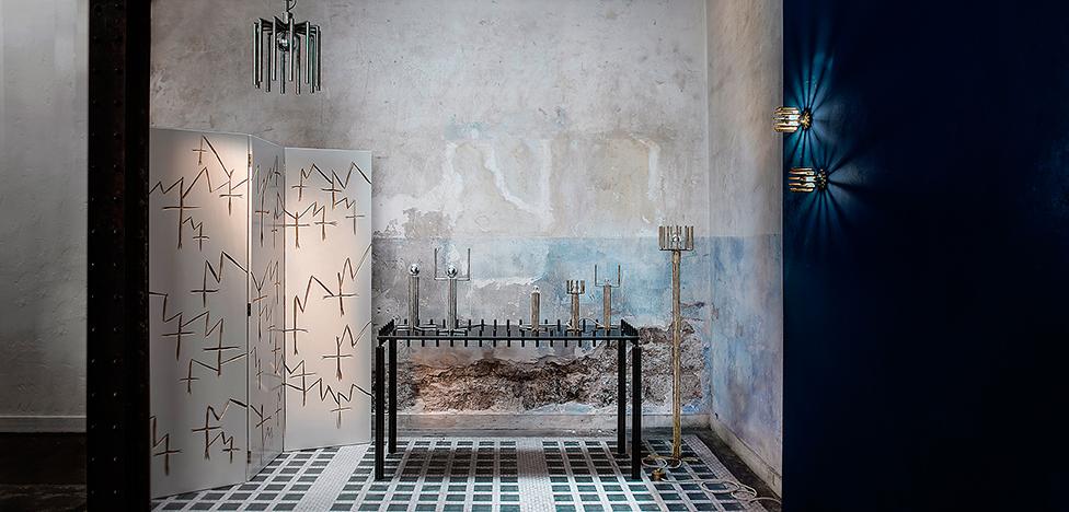Светильники Томаса Дюрье (Thomas Duriez): бронзовая архитектурная фантазия