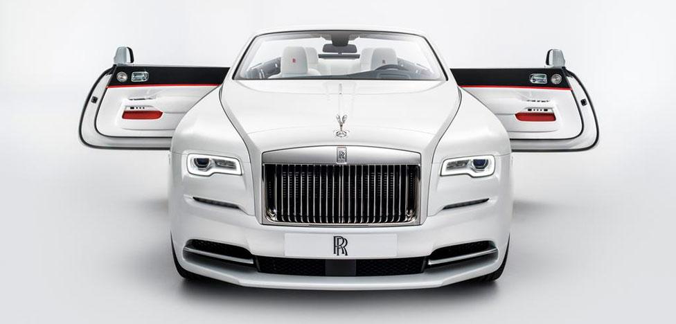 Rolls-Royce на Женевском автосалоне: Мондриан и бриллианты