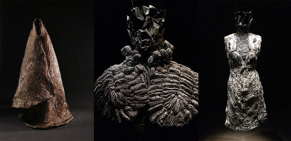 Нуреддин Амир (Noureddine Amir): скульптуры из ткани