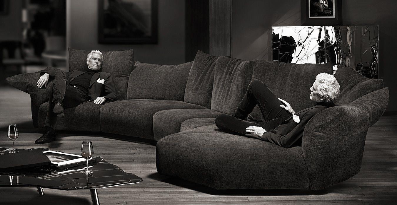 Франческо Бинфаре (Francesco Binfaré): диван и его место в доме
