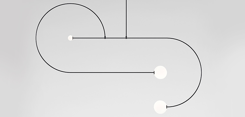 Майкл Анастасиадис: светильники-мобили
