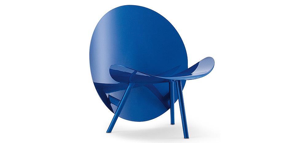 Кресло из карбона. Ограниченный тираж, дизайнерская премия