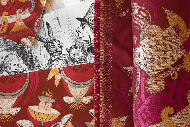 Rubelli: венецианский текстиль In Wonderland