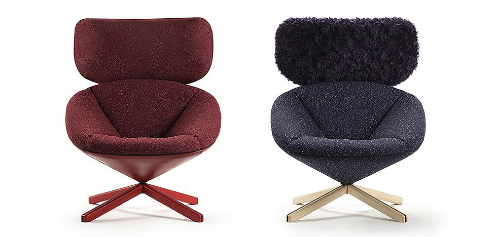 MILAN DESIGN WEEK 2016: модное кресло «Черепаха» от Sancal