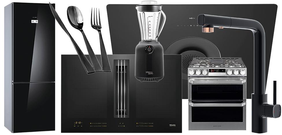 Кухни: черный —новый белый
