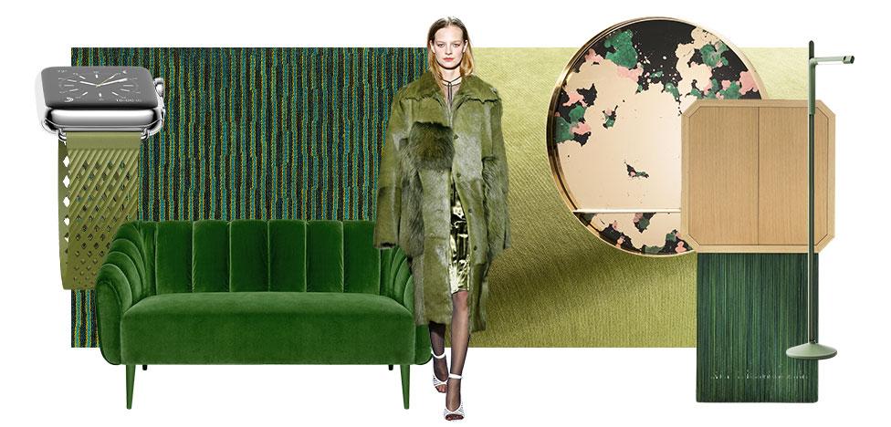Зеленый: модный цвет 2017 года