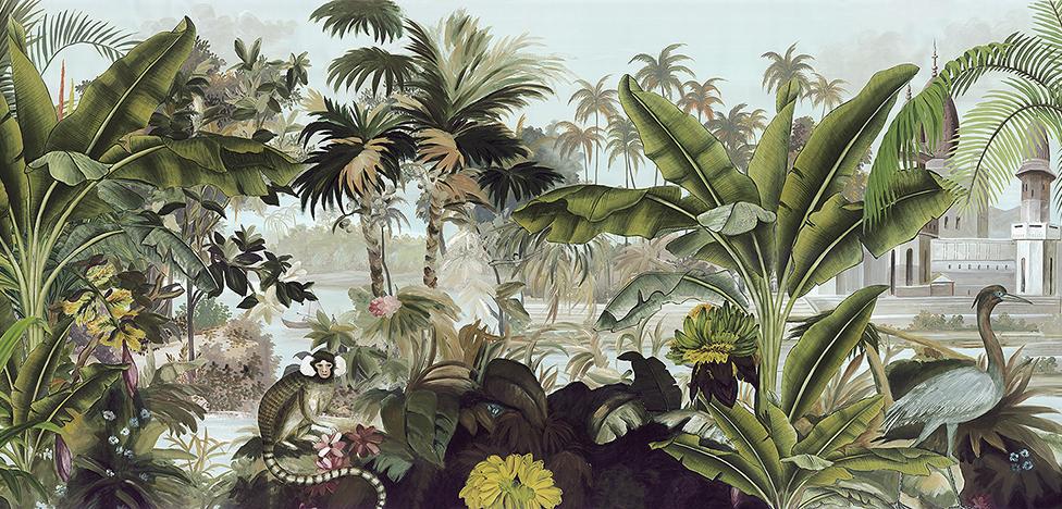 Обои: в тренде пальмы, тропики и райские сады