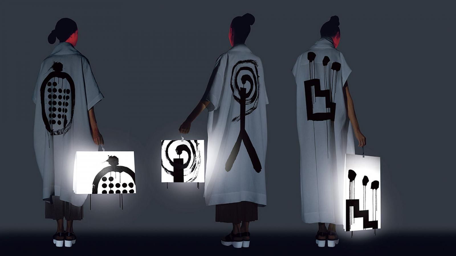 Issey Miyake: волшебная графика Икко Танаки