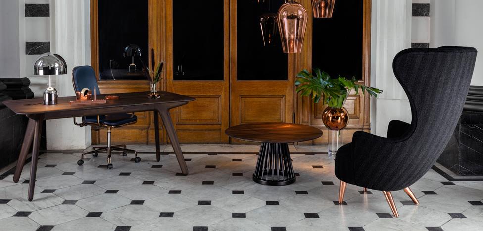 Том Диксон (Tom Dixon): первая коллекция мебели для офиса