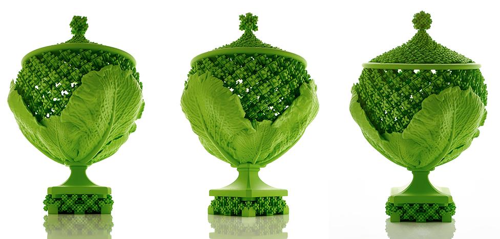 Культ капусты: вазы Майкла Идена