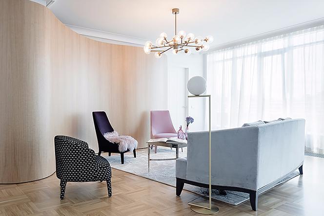 Агнес Рудзите: невесомый интерьер в центре Риги