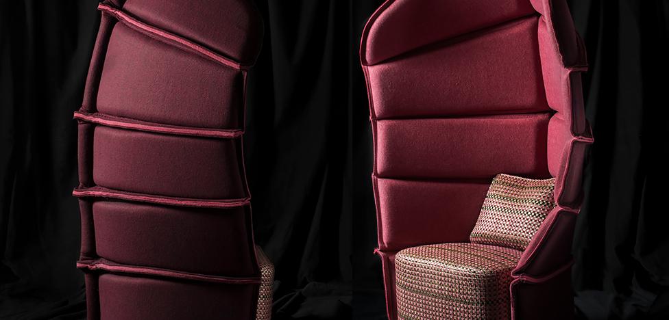 Färg & Blanche: кресло для самурая