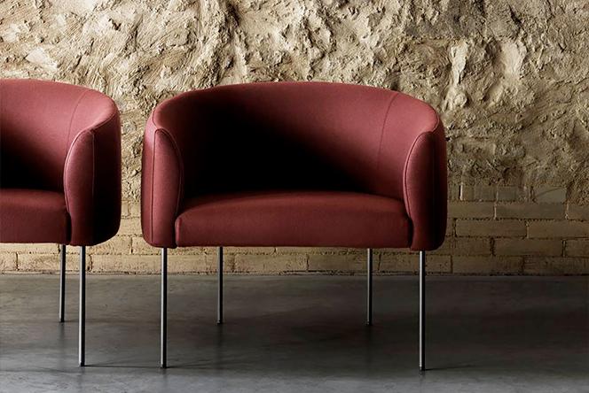 Давид Лопес Кинкосес: кресло в духе slim&bold