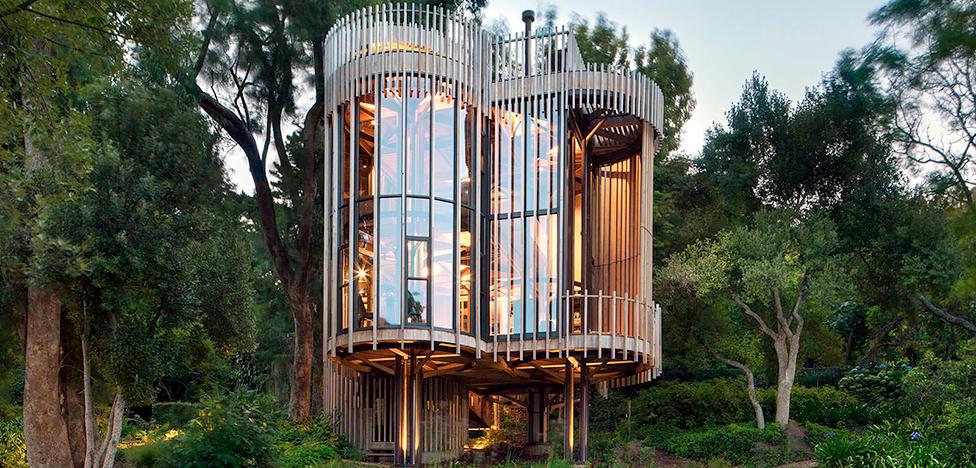Бюро Malan Vorster: дом-дерево в Южной Африке