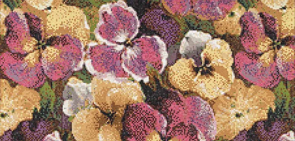 Bisazza 2019: цветы и минералы