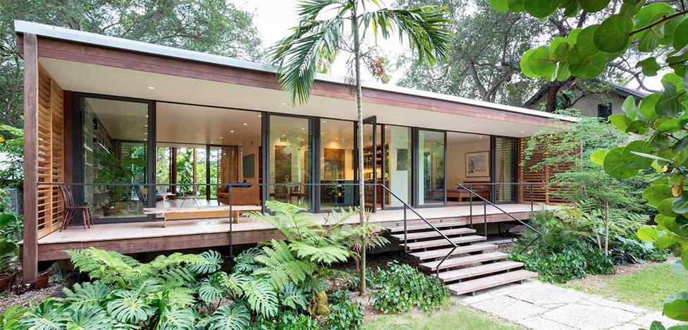 Brillhart House: тропический модернизм в Майами
