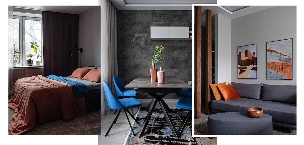 Анна Елина: гармоничная квартира площадью 52 кв. метра