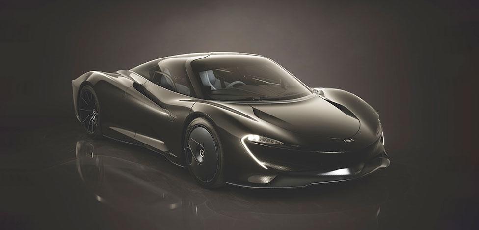 Poltrona Frau: интерьер суперкара McLaren Speedtail