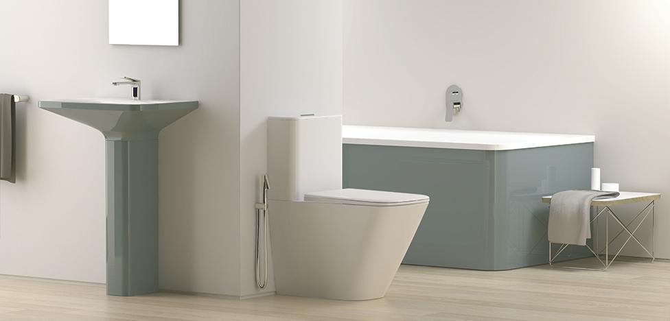 Маттео Тун и Антонио Родригес: total look для ванной комнаты