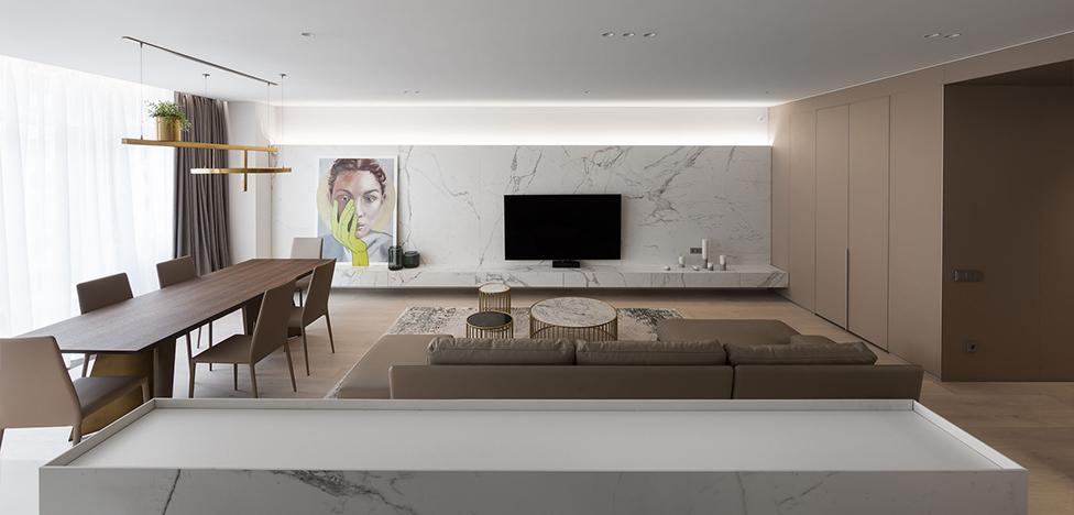 MONO architects: лаконичная квартира в Киеве