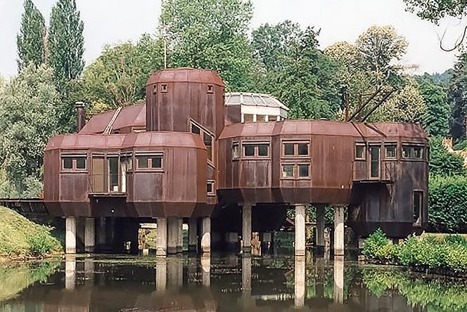 House of Utopia: стальной дом Марка Хелда