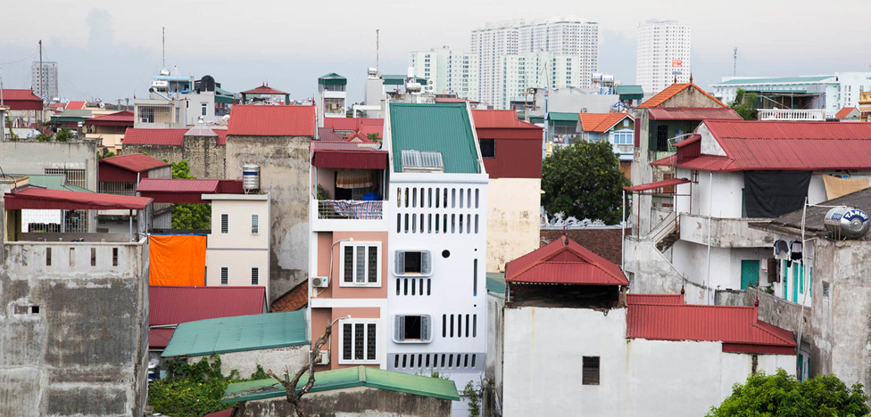 Вьетнамский дом от NH Village Architects