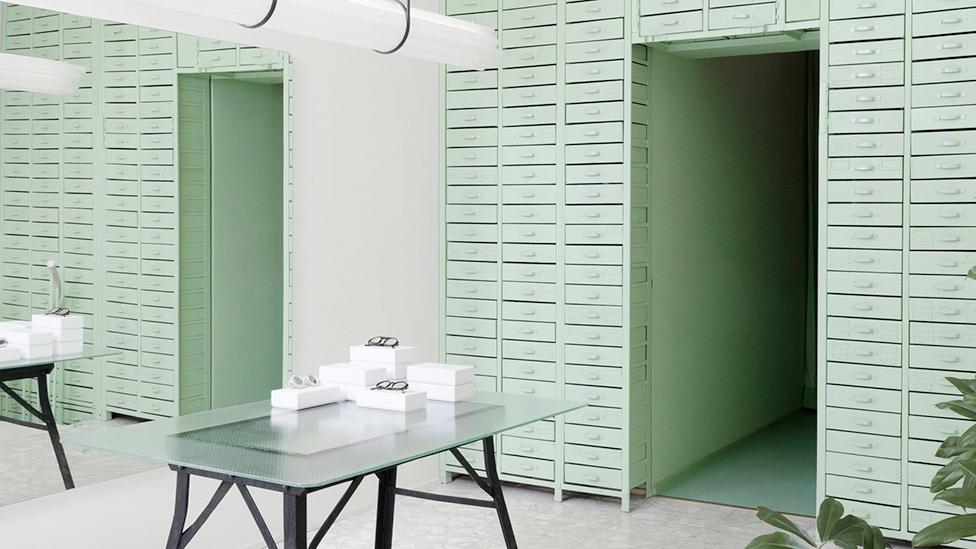 Oskar Kohnen Studio: бутик очков в Берлине