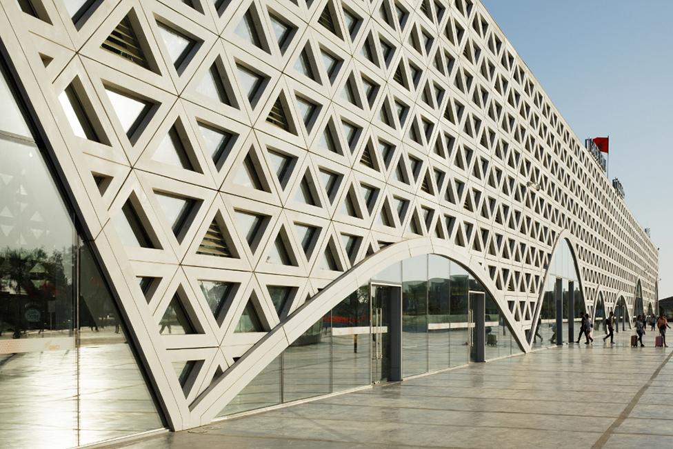 Лучшие постройки 2019: железнодорожный вокзал в Марокко